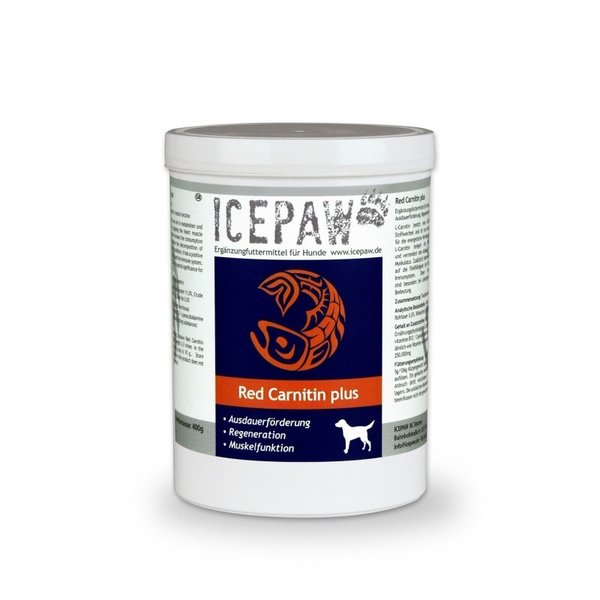 ICEPAW Red Carnitin Plus